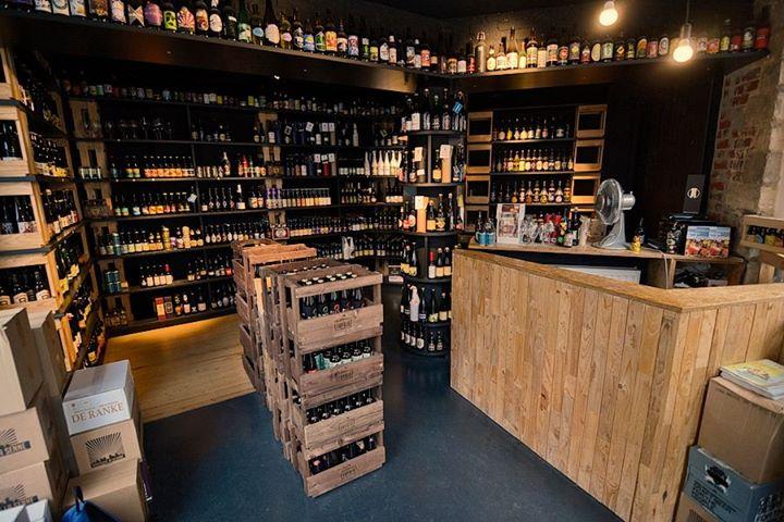 Brussels' bottleshops.