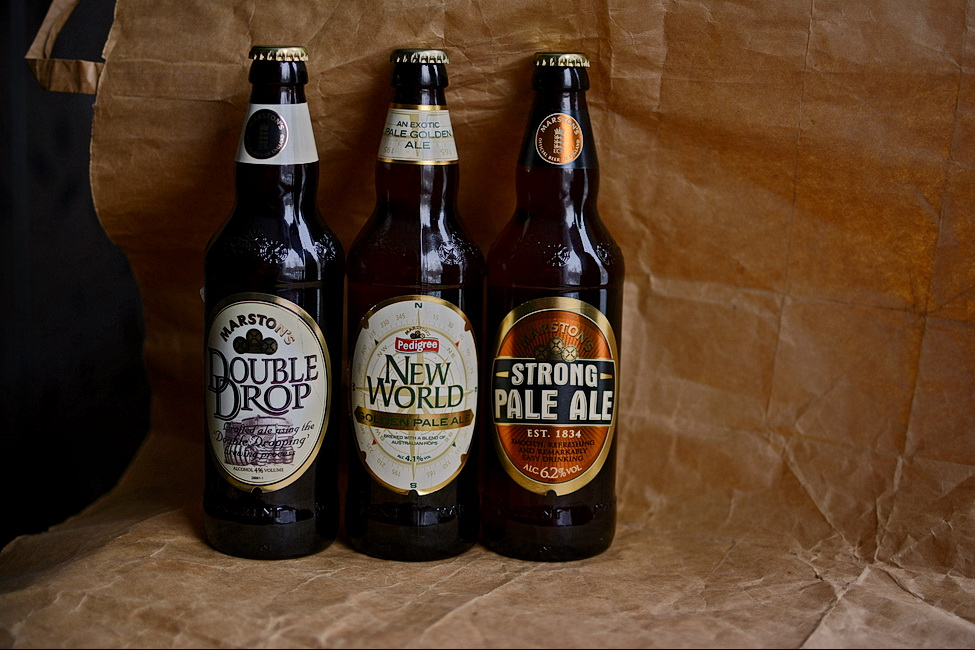 Pale'n'Hoppy British Ales.