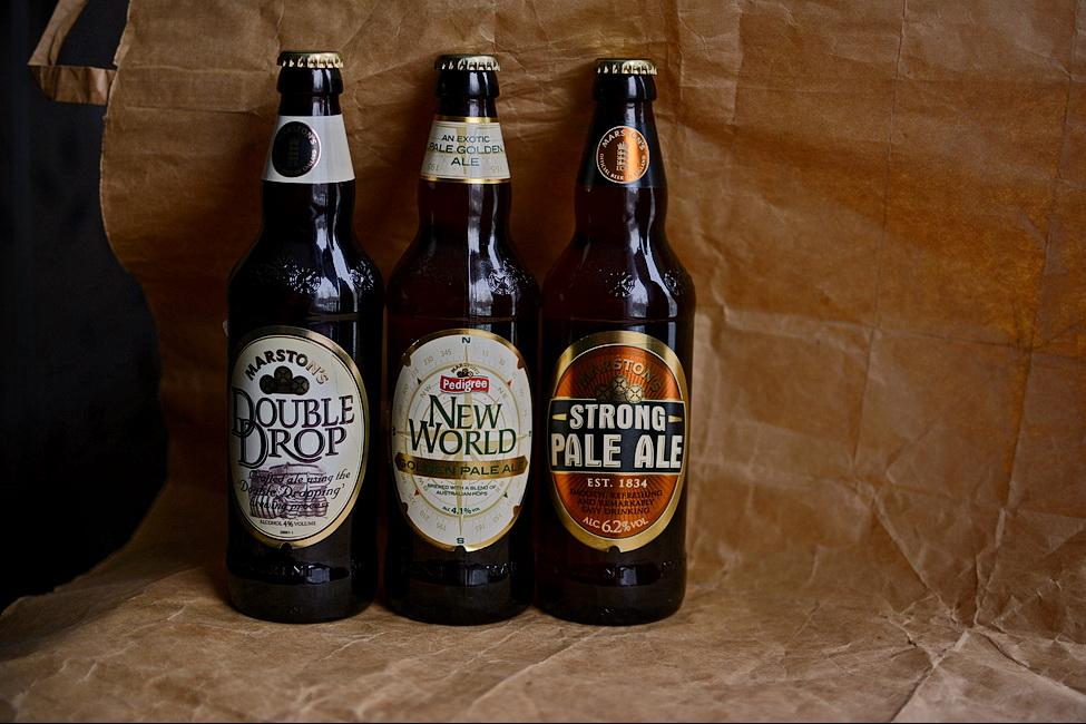 Pale'n'Hoppy British Ales.