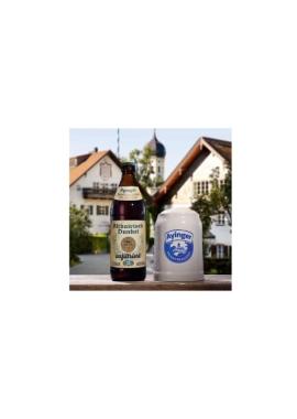 Altbairisch Dunkel unfiltriert Flasche und Krug-85a17818